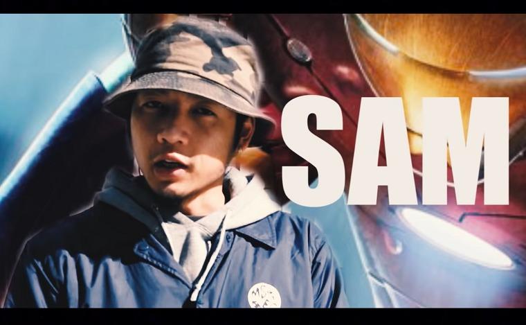 栃木県出身で戦極MCバトルでも活躍したラッパーSAM(サム)の画像