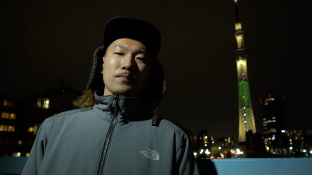 ラッパーRandy-wati-sati(ランディワチサティ)と東京スカイツリーの画像